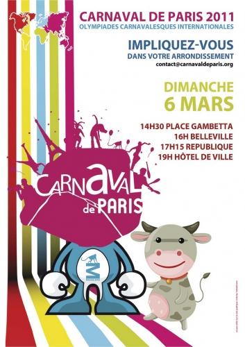 Carnaval de paris, bal masqué, Compagnie créole, nestlé