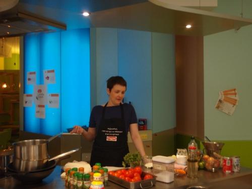 Carnet de saveurs, atelier culinaire, Ducros, Pascale Weeks, Interfel