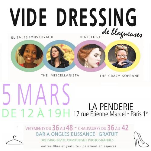 vide-dressing,elisa les bons tuyaux,matoushi's,the miscellanista,the crazy soprane,la penderie,bon plan,bon plan mode,bon plan vide-dressing