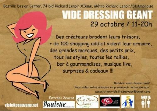 Vide-dressing Violette Sauvage, Violette Sauvage, bons plans mode