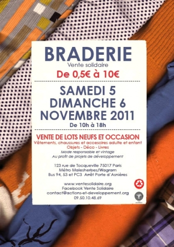 Braderie solidaire, Association Macaq