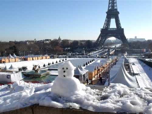 Trocadero on ice, Charlety sur neige, Paris