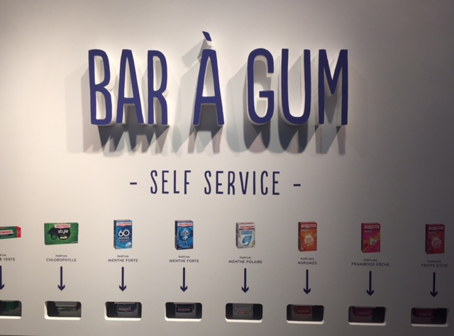 Bar à gum Hollywood, Hollywood chewing gum, bar éphémère, bon plan loisirs, bon plan sorties, bon plan gratuit