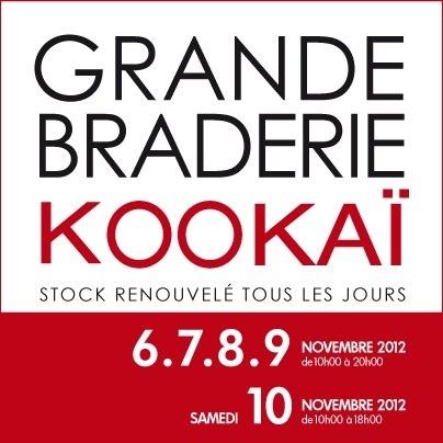 Grande Braderie Kookai Novembre 2012.JPG