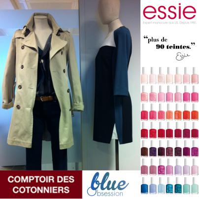 Essie, Comptoir des cotonniers, bon plan Essie, bon plan comptoir des cotonniers, bon tuyau Essie, bon tuyau Comptoir des cotonniers
