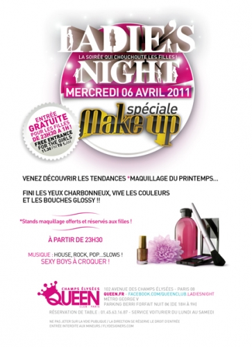 ateliers beauté,dior,printemps haussmann,Ladies night, Queen Champs-Elysées,natura brasil,claude francois