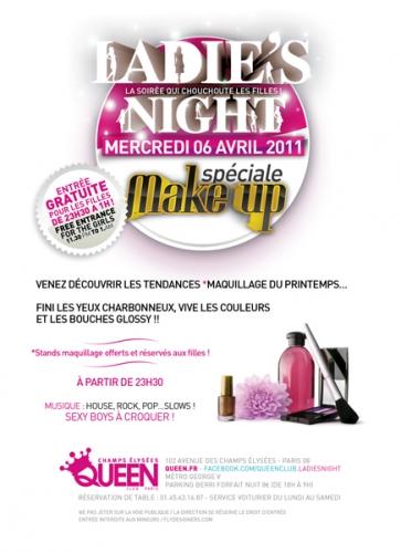 ateliers beauté,dior,printemps haussmann,Ladies night, Queen Champs-Elysées,natura brasil,claude francois