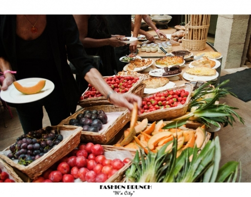 Fashion brunch, La rotonde