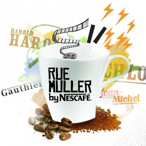Nescafé, dégustations de café, Nestlé, Rue muller by Nescafé