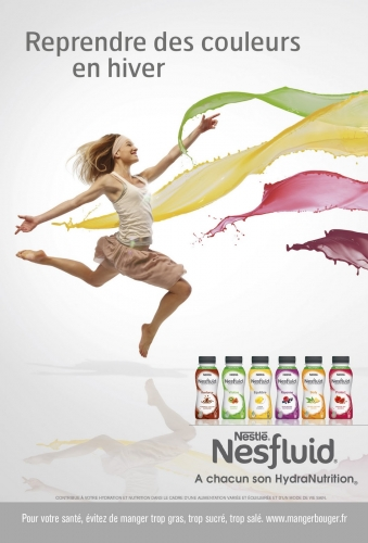 Nesfluid tour, Nesfluid, Nestlé, sport, cours de sport gratuits