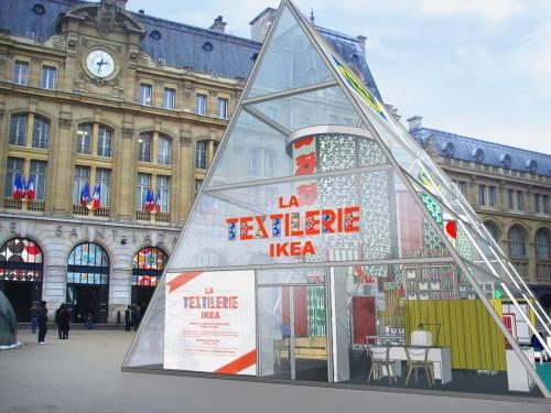 Elisalesbonstuyaux, Elisalesbontuyaux.fr, Ikea, Textilerie Ikea, ateliers DIY gratuits