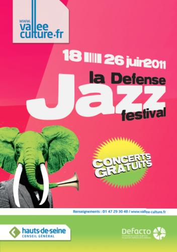 concert Diesel Only The brave, La défense Jazz festival, concert Raphael Enghien-les-bains