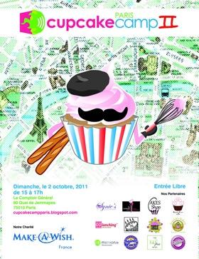 cupcakes, cupcake camp paris, Scarlett Bakery