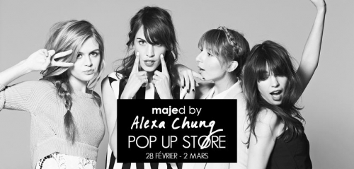 Pop up store Majed by Alexa Chung, Maje, Alexa Chung